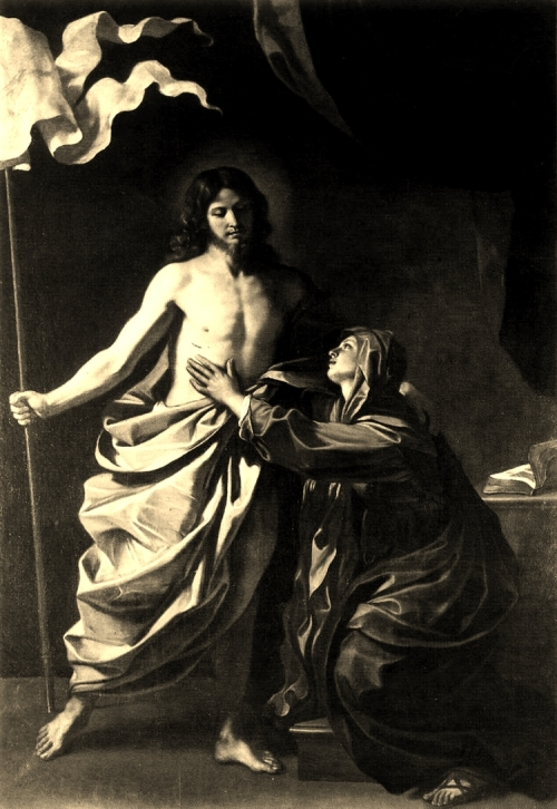 Giovanni Francesco Barbieri 'Guercino,' The Risen Christ Appears to the Virgin, 1629