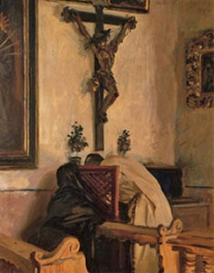 John Singer Sargent | The Confession, 1914