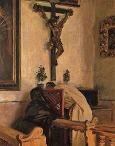 John Singer Sargent | The Confession, 1914