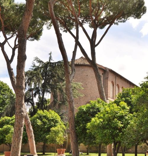 Aranci, Santa Sabina all'Aventino |  Roma, 2013