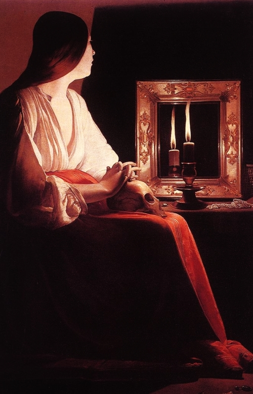 Georges de La Tour, The Penitent Magdalen |1638-1643, The Metropolitan Museum of Art, New York