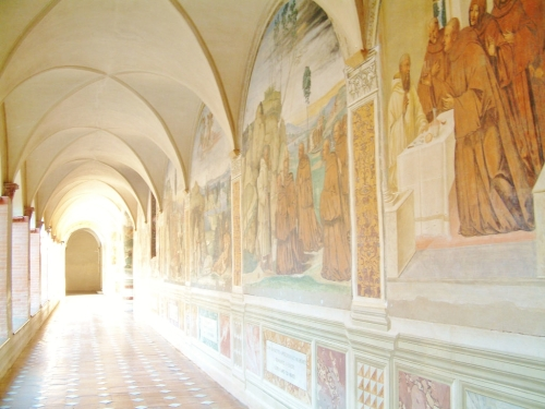 Abbazia Di Santa Maria a Monte Oliveto | Chiostro, Luca Signorelli, 1495