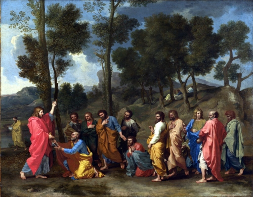 Nicolas Poussin, Seven Sacraments | Ordination 1637-1640, Kimbell Museum of Art, Texas