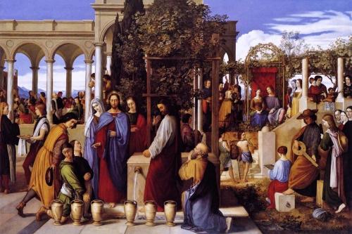 Julius Schnorr von Carolsfeld, The Wedding Feast at Cana | 1819, Kunsthalle, Hamburg