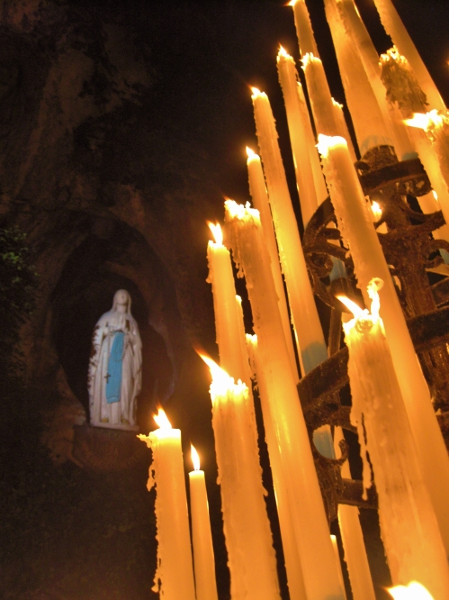 Night at the Grotto | M. Grizzetti, Lourdes, September 2009