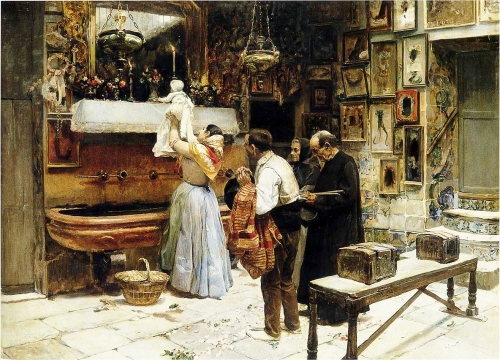 Joaquín Sorolla, Ex Voto, 1892, Spain