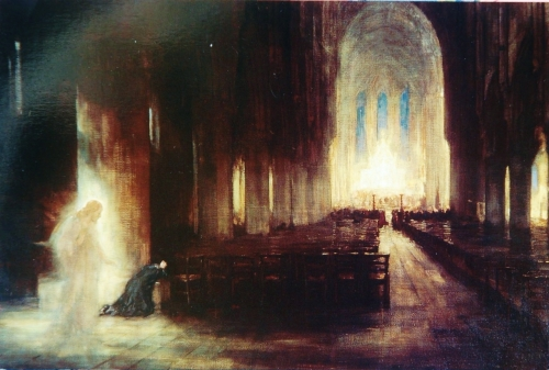 Alfred Edward Borthwick | The Presence, 1910 | St. Mary's Cathedral, Edinburgh