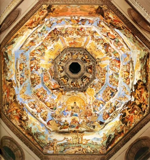 Giorgio Vasari | The Last Judgment, 1572-1579 | Cattedrale di Santa Maria del Fiore, Firenze