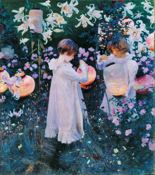 John Singer Sargent, Carnation, Lily, Lily, Rose   1885-6,  Tate, London