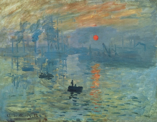 Claude Monet, Impression: Soleil Levant, 1872 | Oil on Canvas, Musée Marmottan Monet, Paris