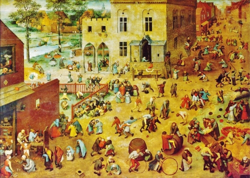 Pieter Bruegel the Elder, Children's Games, 1560 |Oil on panel, Kunsthistorisches Museum, Vienna
