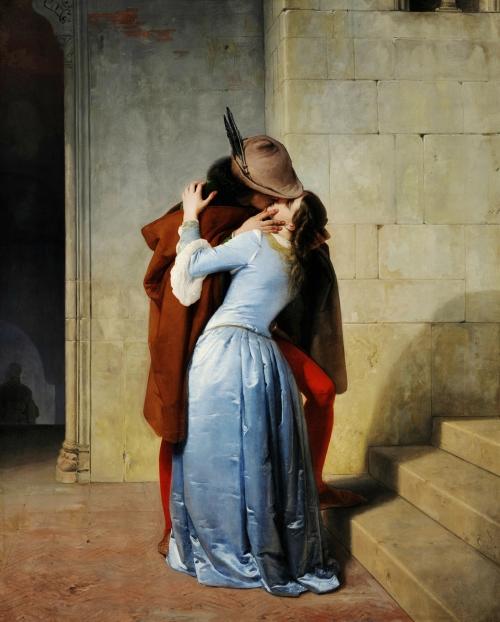 Francesco Hayez, Il Bacio | 1859, Italian, Oil on Canvas, Pinacoteca di Brera, Milano