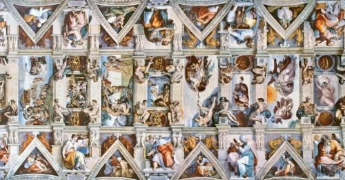 Michelangelo Buonarotti, The Sistine Chapel Ceiling | Fresco, 1508-1512, Vatican City.